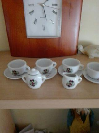 mini juego de cafe