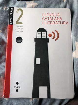 Libro de texto LLENGUA CATALANA I LITERATURA 2