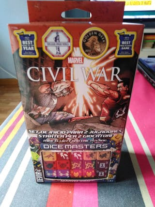 MARVEL CIVIL WAR DICE MASTERS PRECINTADO