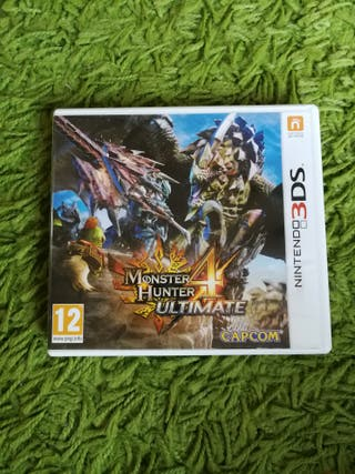 Monster Hunter Ultimate 4 3DS