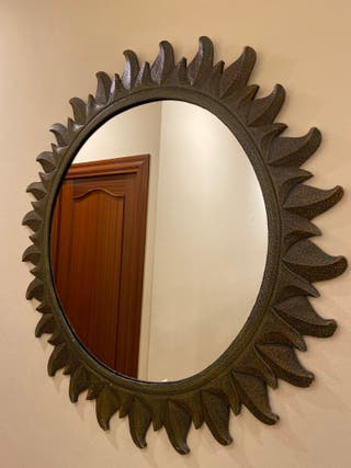 Espejo Sol Marco Madera