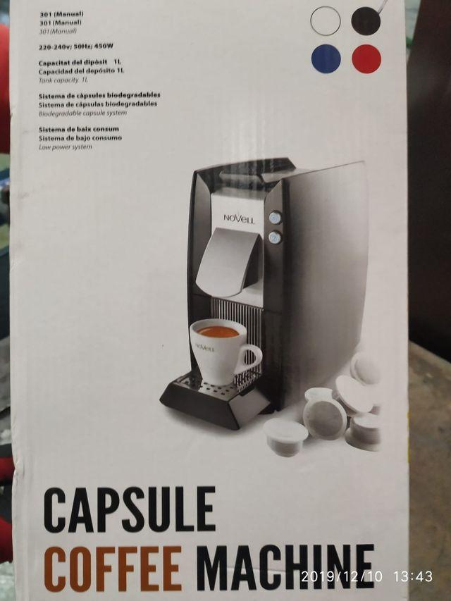 Cafetera cápsulas Novell NUEVA!!