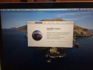 MacBook Pro 2015 128ssd 200ciclos de carga