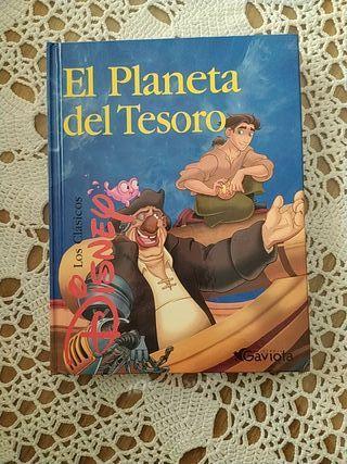 Libro Disney. El Planeta del tesoro