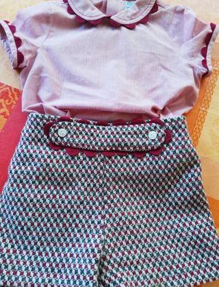 JOSE VARON niño 2 años conjunto ropa