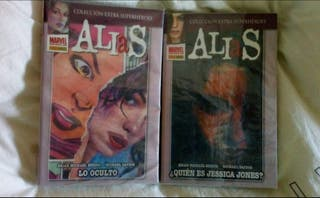 Colección completa de comics Alias