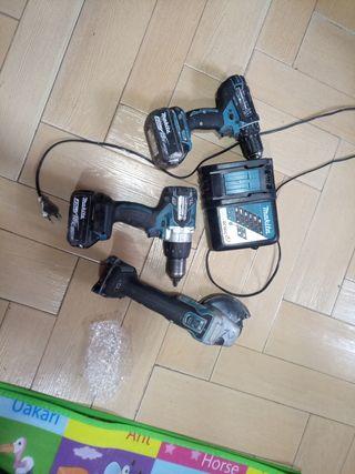 kit makita 18v batería