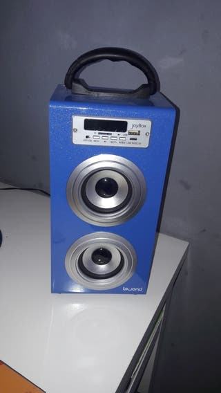 Altavoz Bluetooth- radio