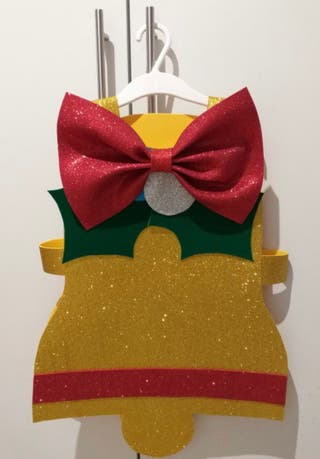 Disfraz campana niño/a de 3 a 5 años