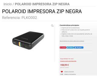 impresora fotográfica Polaroid