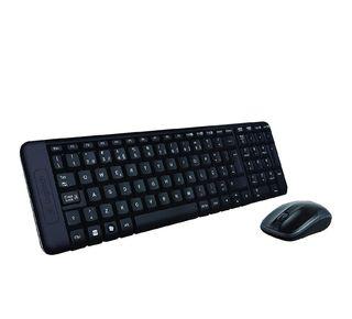 Pack de teclado y ratón inalámbrico Logitech