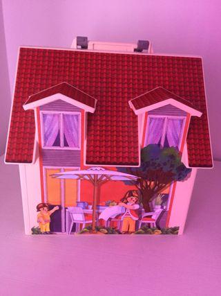 Maletín casa de muñecas de Playmobil