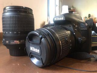 Nikon D3400 + 2 objetivos