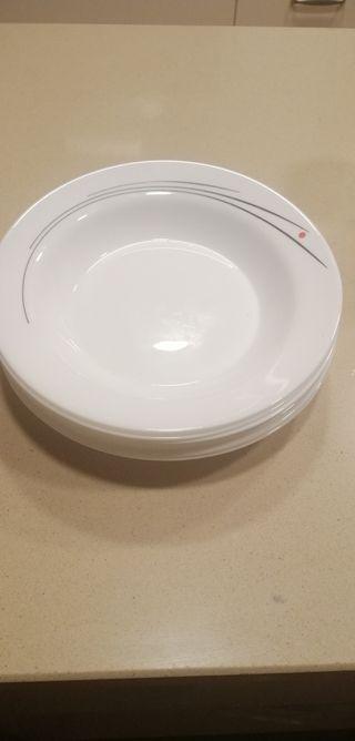 Platos hondos para sopas y cremas
