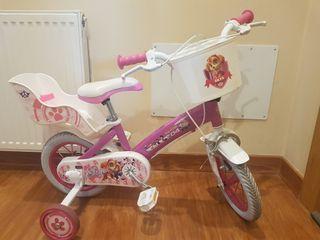 pack de bicicleta infantil