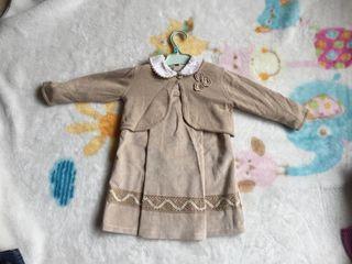 vestido 18 chaqueta 18-24 meses