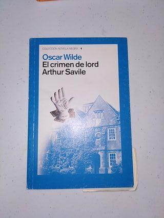 El crimen de Lord Arthur Saville .Oscar Wilde