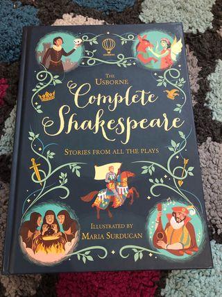 The Usborne Complete Shakespeare cuentos en inglés