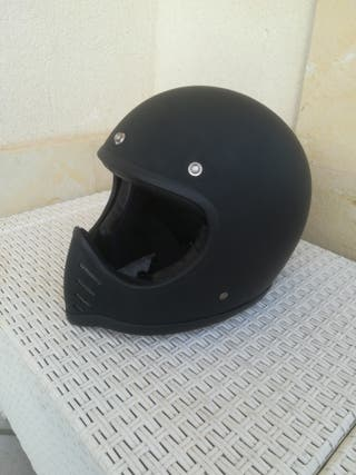 casco retro estilo moto3 seventy five.