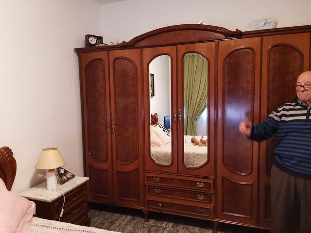 dormitorio completo madera roble, alta calidad