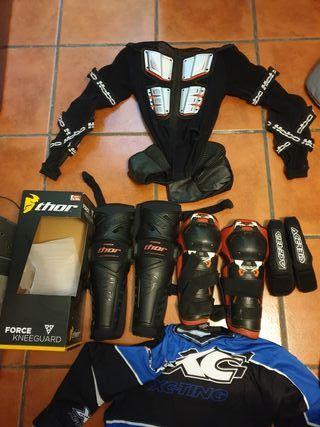 equipación enduro motocross supermotard