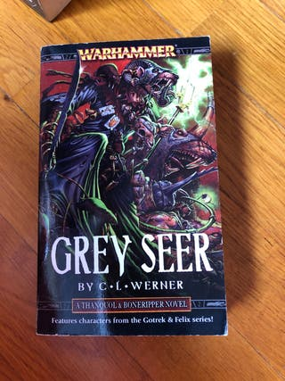Grey seer. Warhammer