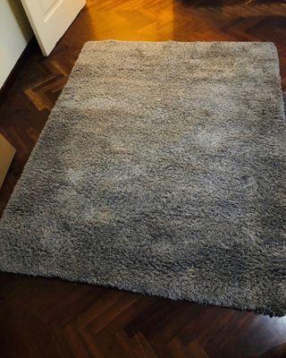 URGE Alfombra gris perlado 140x180cm