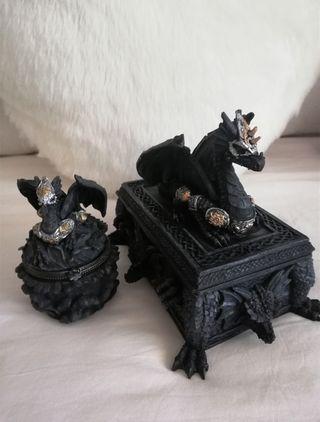 Joyeros caja dragón - Estilo gótico