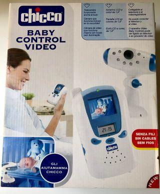 Cámara de vigilancia de bebé con monitor a color