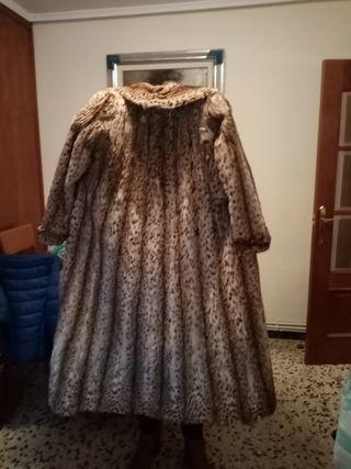 Abrigo piel lince
