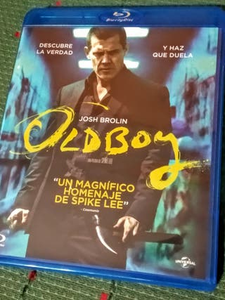 Película Oldboy, de Spike Lee Blu-ray