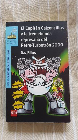 "LIBRO INFANTIL "" EL CAPITÁN CALZONCILLOS..."""