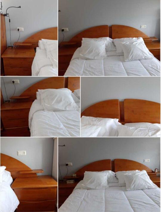 dormitorio madera de cerezo