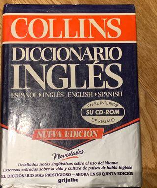 Pack diccionario y 3 libros gramática inglés