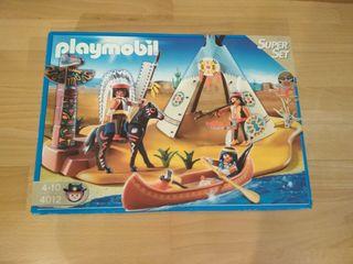 Playmobil 4012 Super set Campamento Indio