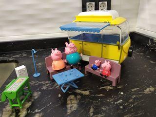 Juguete Caravana Pepa Pig