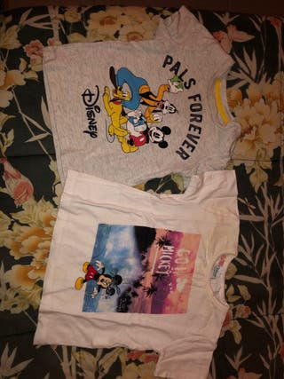Camisetas bebé mickey mouse