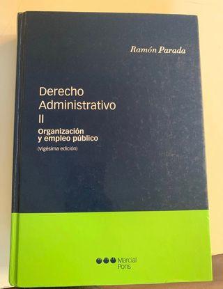 Derecho Administrativo II UNED