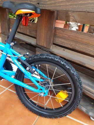 bicicleta de 16pulgadas