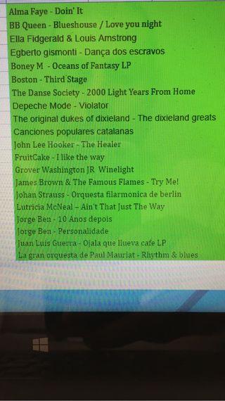 Liquido coleccion vinilo 36 discos (Lps + Maxis)