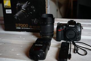 Cámara Reflex Nikon D7000 18-105mm WIFI