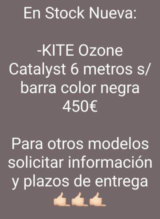 Kitesurf Kite NUEVA Ozone Catalyst 6 metros Cometa