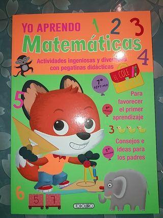 Libro Yo aprendo Matemáticas