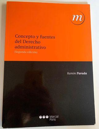 Concepto y fuentes de Derecho Administrativo UNED