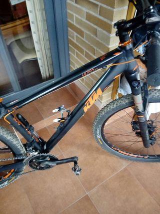 bicicleta KTM ULTRA rueda 27,5