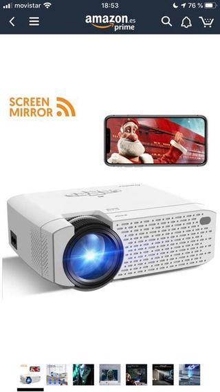 Proyector portátil Full HD cine/fotos. SIN ESTRENO