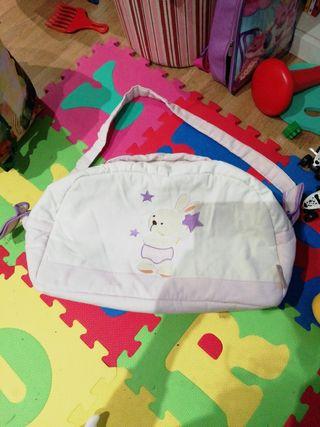 bolsa para canastilla bebe