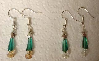 Gorgeous pierced earrings