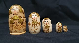 Matrioshka corcho