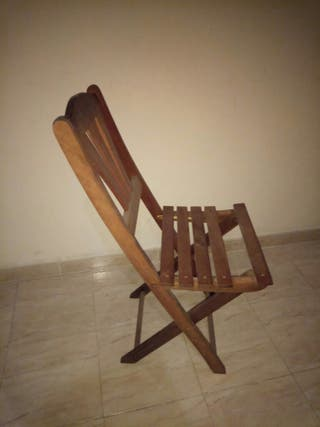 silla plegable de madera outdoor furniture